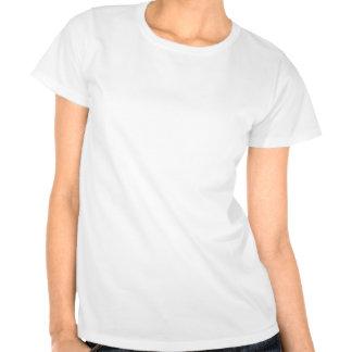 Filón tropical con los pescados camisetas