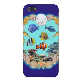 Filón tropical iPhone 5 cárcasas