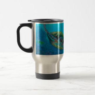 Filón tropical hawaiano de los pescados de la taza de viaje