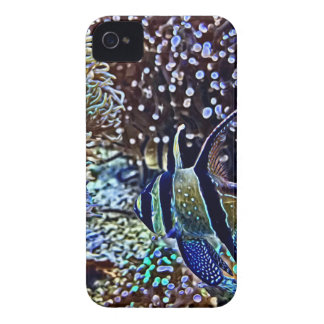 Filón y pescados vivos carcasa para iPhone 4