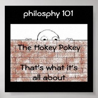 Filosofía 101 - poster/impresión