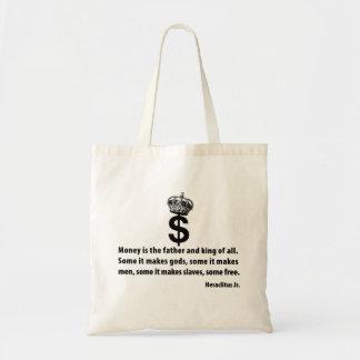 Filosofía del dinero bolsas
