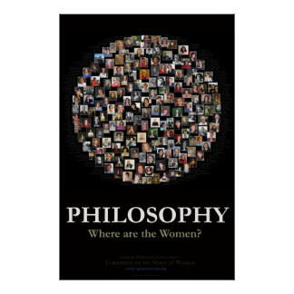¿Filosofía - dónde están las mujeres? Póster