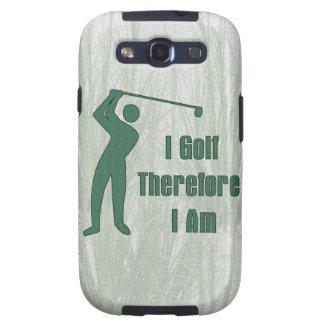 Filosofía Golfing Samsung Galaxy S3 Carcasa