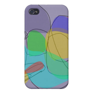 Filosofía gris iPhone 4/4S carcasas