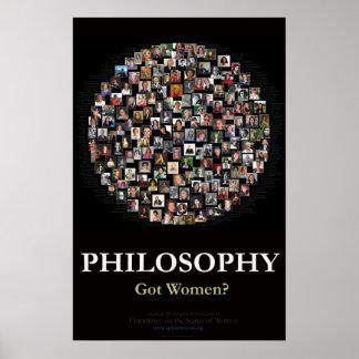 ¿Filosofía - mujeres conseguidas? Póster