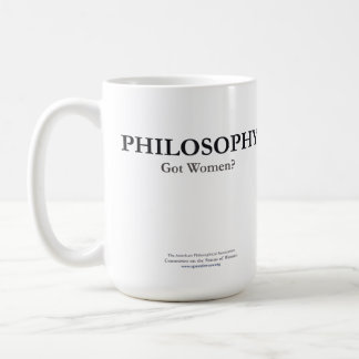 ¿FILOSOFÍA - mujeres conseguidas? Taza