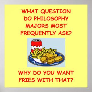 filosofía poster
