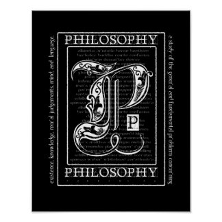 Filosofía Póster