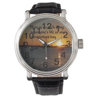 filosofía relojes de pulsera