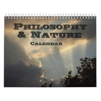Filosofía y naturaleza calendario
