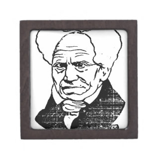 Filósofo alemán Arthur Schopenhauer de Felix Caja De Regalo De Calidad