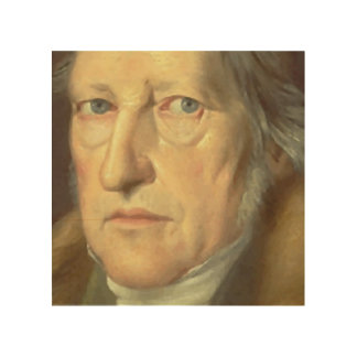 Filósofo Jorge Hegel Impresiones En Madera
