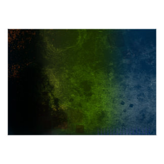 Filtered Distress Abstract Poster
