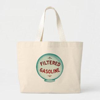 Filtered Gasoline - Vintage Advertising Canvas Bag