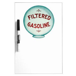 Filtered Gasoline - Vintage Advertising Dry Erase Whiteboards