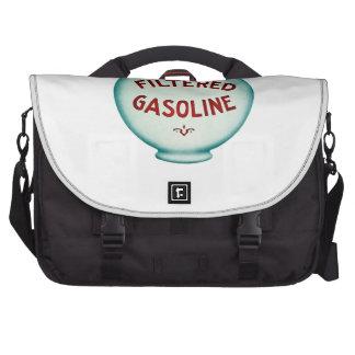 Filtered Gasoline - Vintage Advertising Computer Bag