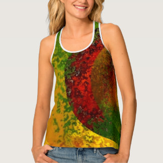 """Filtered Hues"" Racerback Tank Top"