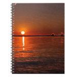 Filtered Texas Sunise Notebook