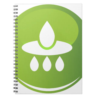 Filtered Water Icon Notebook