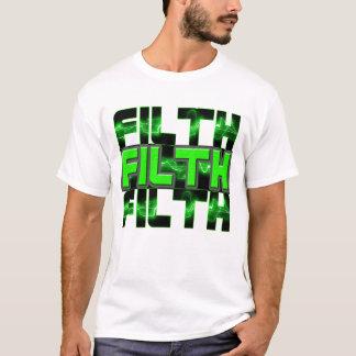 FILTH Music Dubstep Electro Rave Bass DJ FILTH T-Shirt