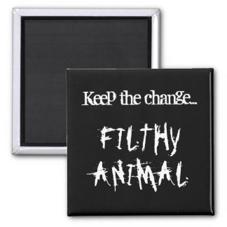 Filthy Animal Magnet (Black)