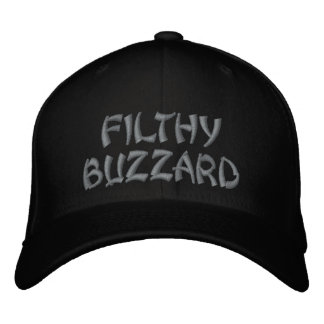 FILTHY BUZZARD EMBROIDERED HATS