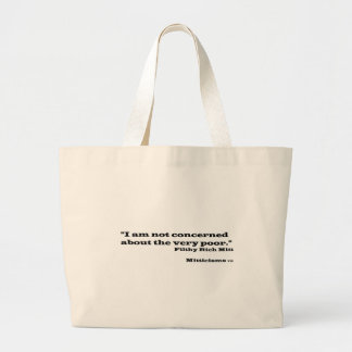 Filthy Rich Mitt Large Tote Bag