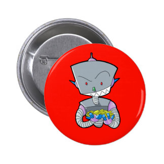 Filthy Rich Robot 2 Inch Round Button