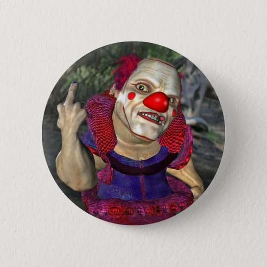 Filthy the Clown Button