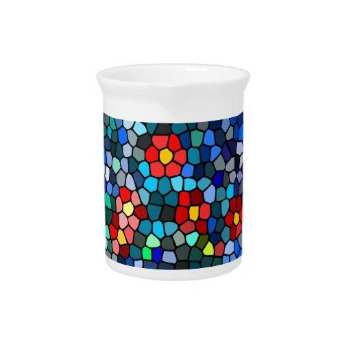 Filtrar-vidrio floral jarras para bebida