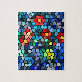 Filtrar-vidrio floral rompecabezas con fotos