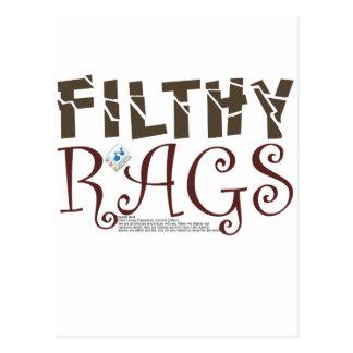 Filty Rags Postcard