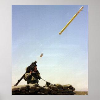 FIM-92 Stinger Missile Poster