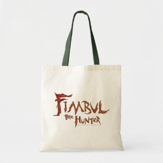 Fimbul el cazador bolsas lienzo