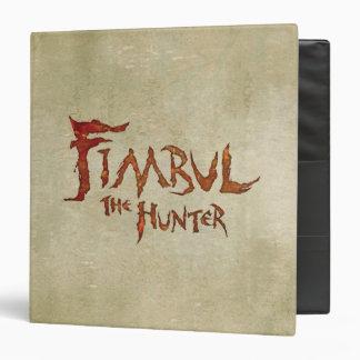 Fimbul The Hunter 3 Ring Binder