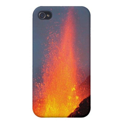 Fimmvörðuháls Volcano - Iceland iPhone 4/4S Case