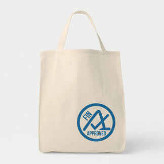 Fin Approved Grocery Bag