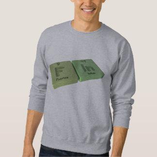 Fin as F Fluorine and In Indium Sweatshirt