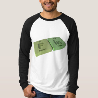 Fin as F Fluorine and In Indium T-Shirt