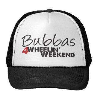 Fin de semana de Bubbas 4Wheelin' Gorros