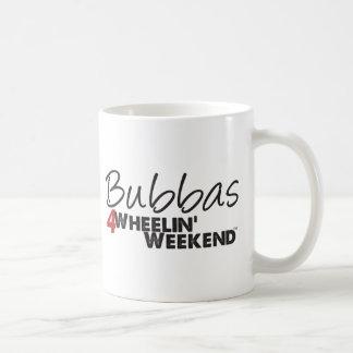 Fin de semana de Bubbas 4Wheelin' Tazas De Café