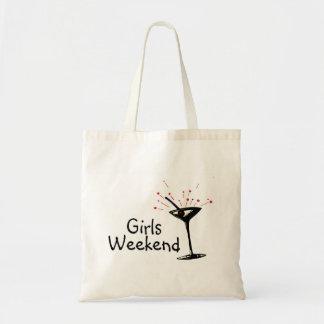 Fin de semana de los chicas bolsa de mano