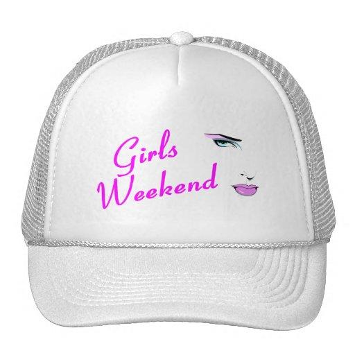 Fin de semana de los chicas gorras