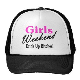 Fin de semana de los chicas gorros
