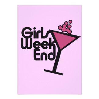 Fin de semana de los chicas comunicados