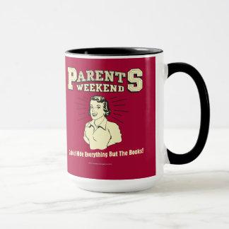 Fin de semana de los padres: Piel todo Taza