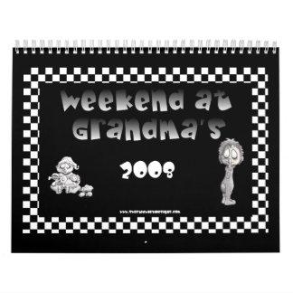 Fin de semana en el calendario de las abuelas 2008