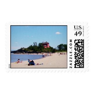 Fin de semana en la playa sellos