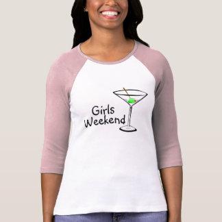 Fin de semana Martini de los chicas Camiseta